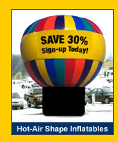 Hot Air Inflatables