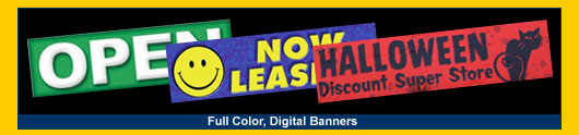 Full Color Digital Banners